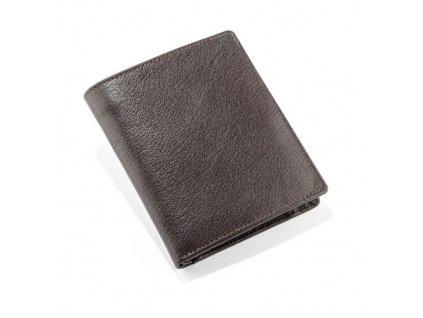 B7037-02|Kožené peněženky|Pánské peněženky|Reklamní potisk na peneženky|Ražba loga|Peněženky s potiskem loga firmy|černá