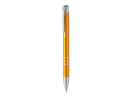 M809488-03/Reklamní předměty a propisky pro firmy|kovové kuličkové pero/ ORANŽOVÁ