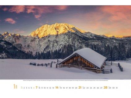 6db2918d1 K215520|Firemní nástěnný kalendáře|Les|kalendáře 2020|reklamní potisk  kalendářů