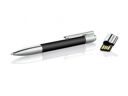 B44301-02|USB flash disk jako multifunkční propiska|8 GB|modrá