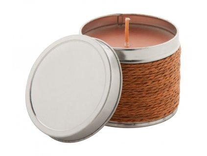 M731314-09/vonné svíčky/ vonná svíčka s potiskem loga firmy/ reklamní dárkové svíčky/ firemní dárky / vonná svíčka čokoláda