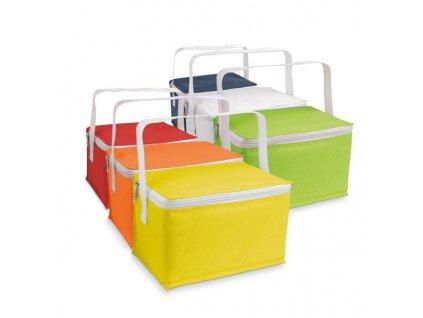 072414-24|Reklamní tašky a batohy|Termotašky a chladící tašky na potraviny|Reklamní předměty s potiskem i bez potisku| termotaška polyesterová tmavě modrá