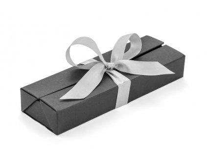 B19614-00 Reklamní dárková krabička na psací potřeby a propisky Reklamní předměty pro firmy černá