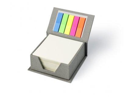 B17676|Poznámková kostka s papírky|