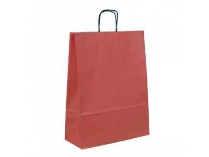 095467-PR|Reklamní dárkové tašky s potiskem i bez potisku|Levná papírová dárková taška natur|18x8x25 cm|Přírodní dárkové tašky s potiskem i bez potisku
