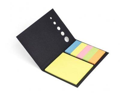 B17129|Samolepící barevné lístečky|Reklamní kancelářské potřeby|Reklamní potisk na firemní dárky|Propagační kancelářské dárky