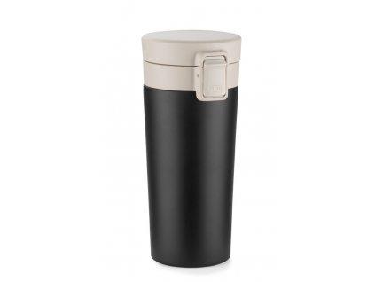 054413-30|Ekologické nádobí bambusové|Bambusový hrnek se silikonovým víčkem a gumovým úchopem|270 ml|červený hrnek|Reklamní hrnky s potiskem i bez potisku|Firemní nádobí