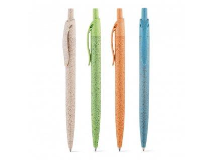 M721524 set|Ekologické kuličkové pero ze slámy|Levné reklamní propisky\Reklamní předměty s potiskem i bez potisku