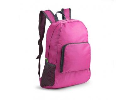 B20223-21|Ultralehký batoh|Dámský růžový doplňkový batoh|do letadla