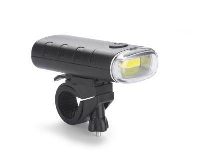 021038-44|LED svítilna na hlavu s popruhy|Blikající čelovka|SOS čelovka na hlavu s nastavitelnými popruhy|Reklamní potisk na firemní dárky dle zadání|černá