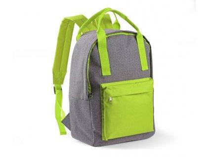 B20226-13|zelený batoh|Reklamní batohy a tašky|Prodej batohů pro firmy|Tiskárna na sítotisk a transfer na batohy