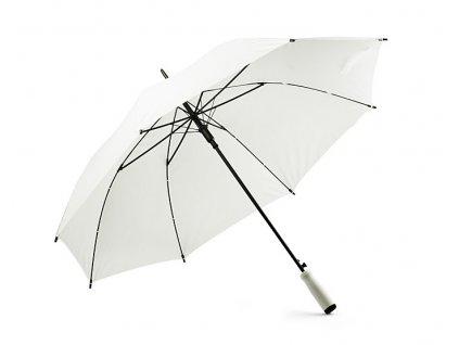 B37036-01|Klasický holový deštník automatic s pěnovou rokojetí|Bílý deštník|Reklamní deštníky s potiskem i bez potisku|Tisk loga na deštníky|Potisk deštníků pro firmy