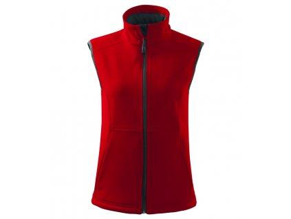 A516-07|Reklamní softshellové bundy|Dámská vesta na potisk loga firmy|Firemní textil|Vesty
