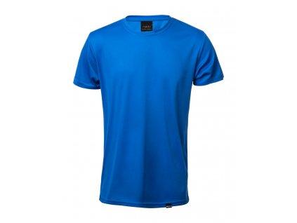 M721584 -06/Reklamní trička s vlastním potiskem/ reklamní předměty/ reklamní potisk loga firmy/ modrá