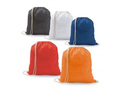 B20248-03|Levné látkové pytle na záda se stahovací šňůrkou|Reklamní potisk na batohy,tašky a vaky|Modrá