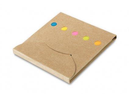 B17532d|Samolepící lístečky barevné|Reklamní předměty|Kancelářské dárky a produkty|