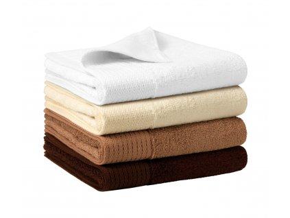 A951 21|reklamní ručníky|Firemní ručníky|Bambusové froté ručníky s potiskem loga firmy|Béžová