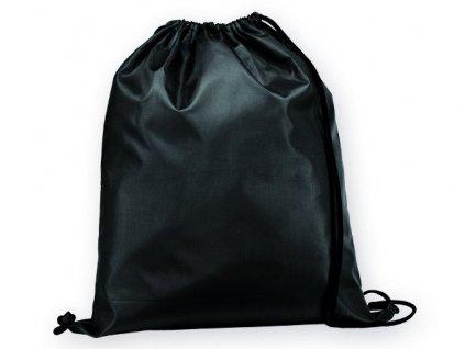 092910 03|Školní vaky a batohy s potiskem loga|Vaky a batohy pro děti|černá