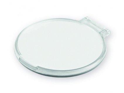 094853-06|reklamní kosmetické zrcátko s potiskem i bez potisku|kosmetická zrcátko do kabelky|bílá