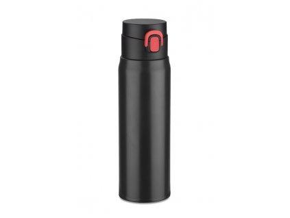 B16007-02|cestovní termohrnky|Termohrnky do auta|Potisk loga firmy na termohrnky|Potisk reklamních předmětů|černá