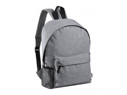 M721636-77/Pánské a dámské batohy s polstrovanými zády a remenními pásy/ reklamní batohy/ reklamní potisk batohů, tašek a brašen/ šedá