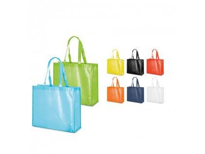 092833 set |Laminovaná taška z netkané textilie|Luxusní dárkové tašky|Luxusní nákupní tašky s dlouhým uchem