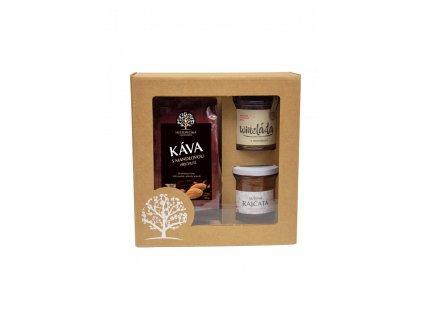 ADONAI/7 - vánoční dárkové sady, kazety a balíčky s kávou, paštikou, marmeládou/ Vánoční dárky pro firmy