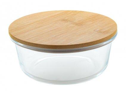 M800446 b/ REKLAMNÍ MISKY, HRNKY, SKLENICE/ předměty do kuchyně, dárky domácnost, byt/ miska s víčkem/ bamusové reklamní dárkové předměty/ prodej a potisk