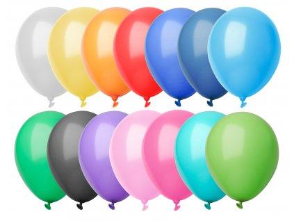 M718093/ BALONKY/ BAREVNÉ NAFUKOVACÍ PARTY BALÓNKY/ Reklamní a propagační dárky a potřeby/ plnobarevný potisk balónků/ Adonai.cz