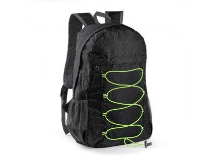 B20225-02|Složitelný|Skládací batoh s fluerescenčními šňůrkami a velkým prostorem