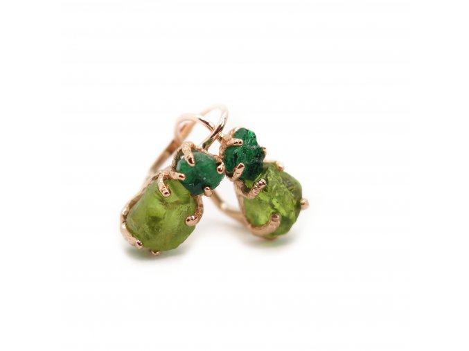 olivíny a smaragdy