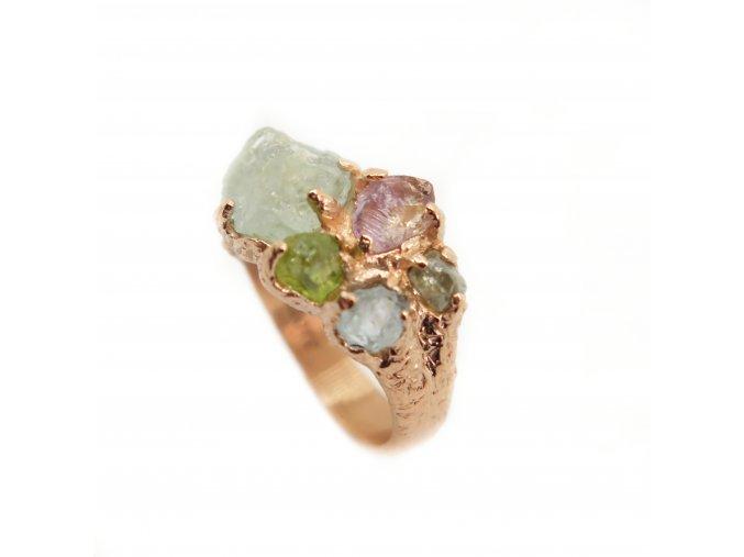 Akvamríny, olivín, ametrin, diamant šedý