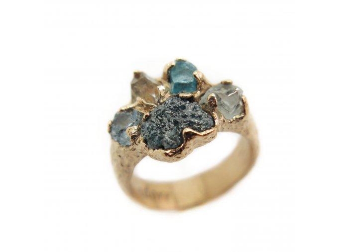 diamant, apatit, akvamaríny, herkimer