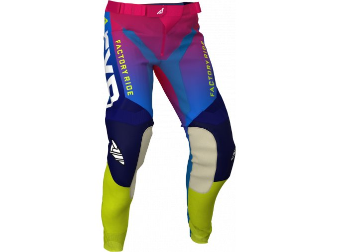 Helium Pant CoralBlueFadeHi Vis 203341 9340 Front