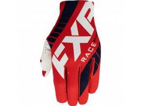 SLIP-ON LITE MX rukavice 21 bílá/červená