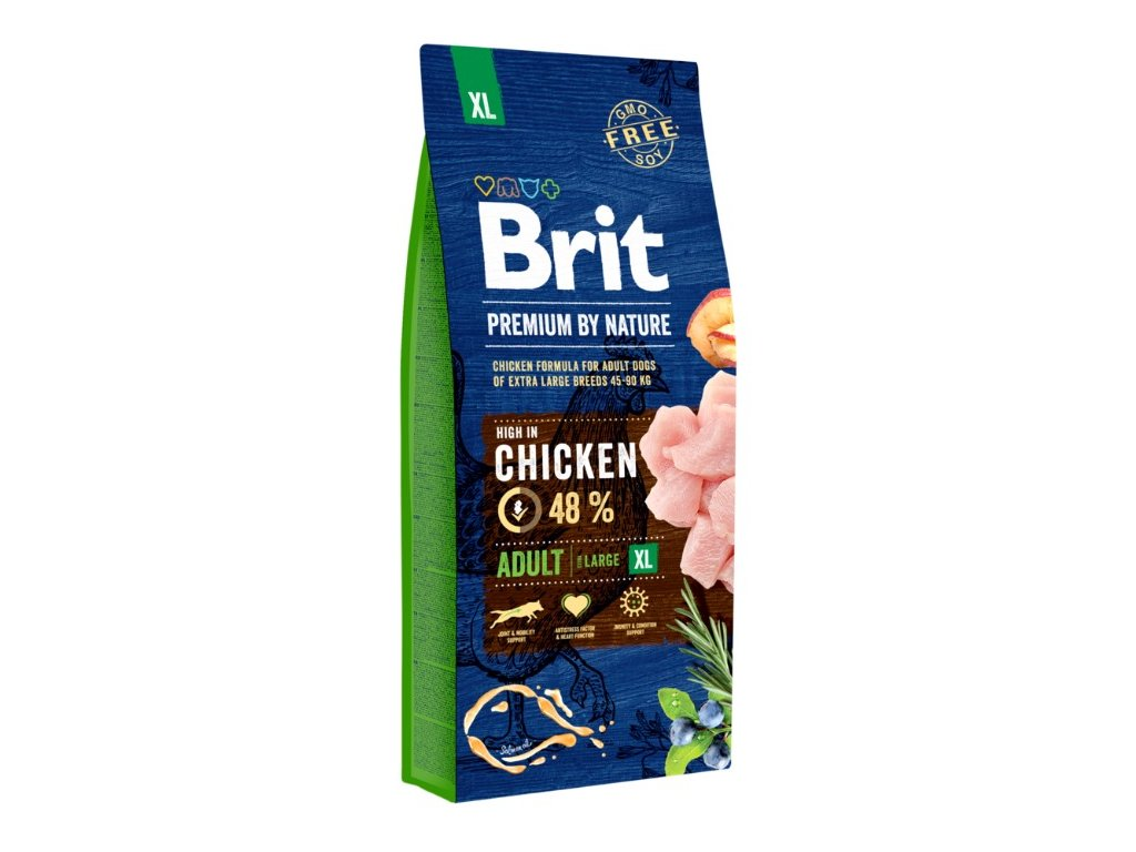 5376 brit premium by nature adult xl 15kg