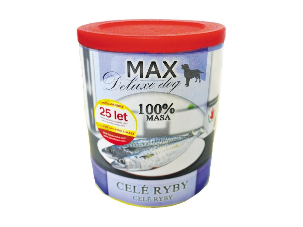 5556 max deluxe cele ryby 800g