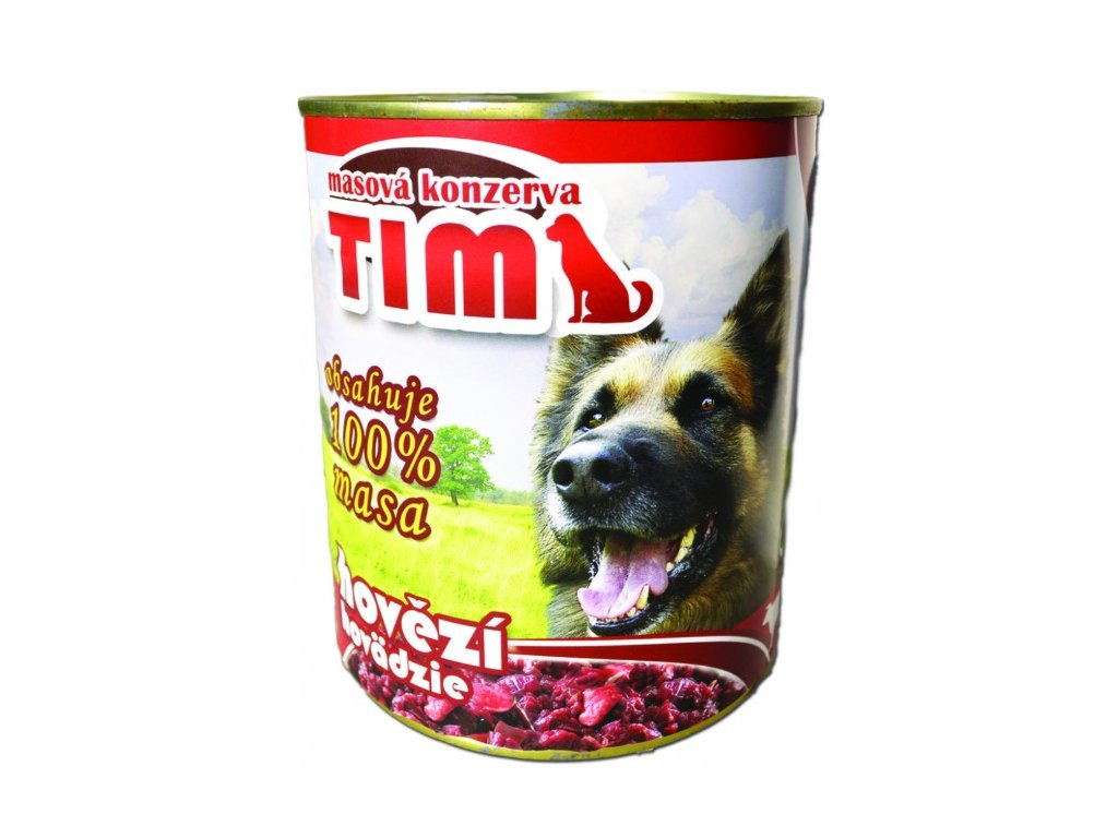 5598 tim dog hovezi 1200g
