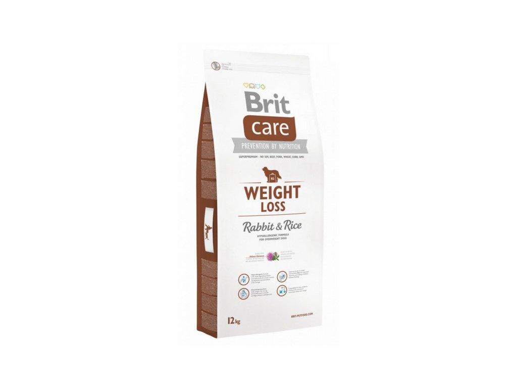 3603 brit care weight loss rabbit rice 12kg
