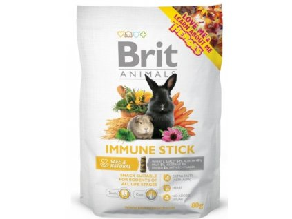 2757 brit animals immune stick for rodents 80g