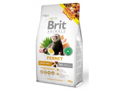 3831 brit animals ferret complete 700g