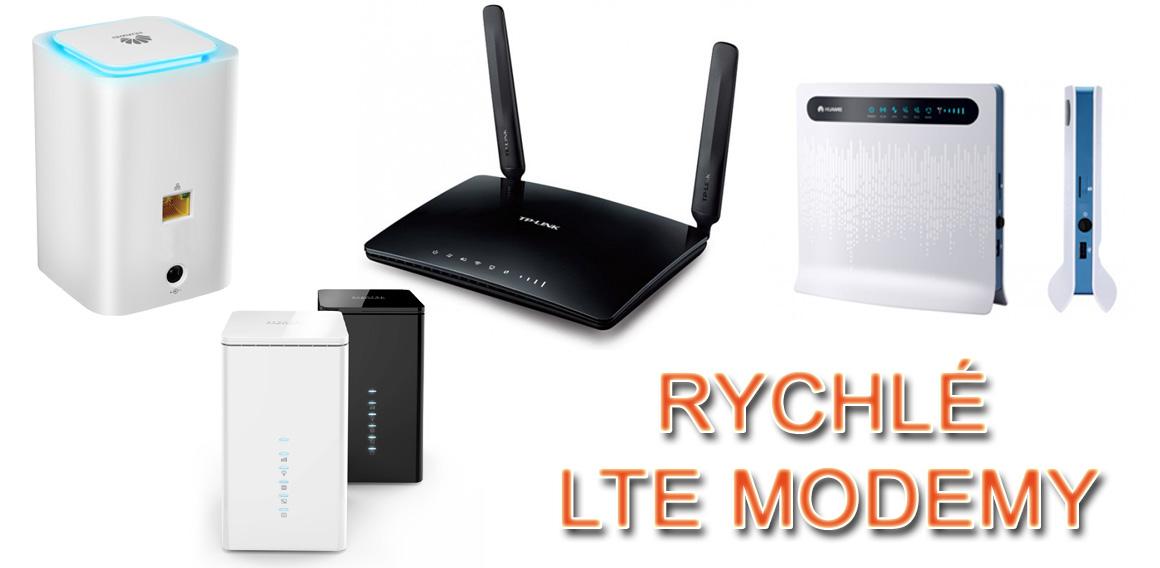 LTE modemy