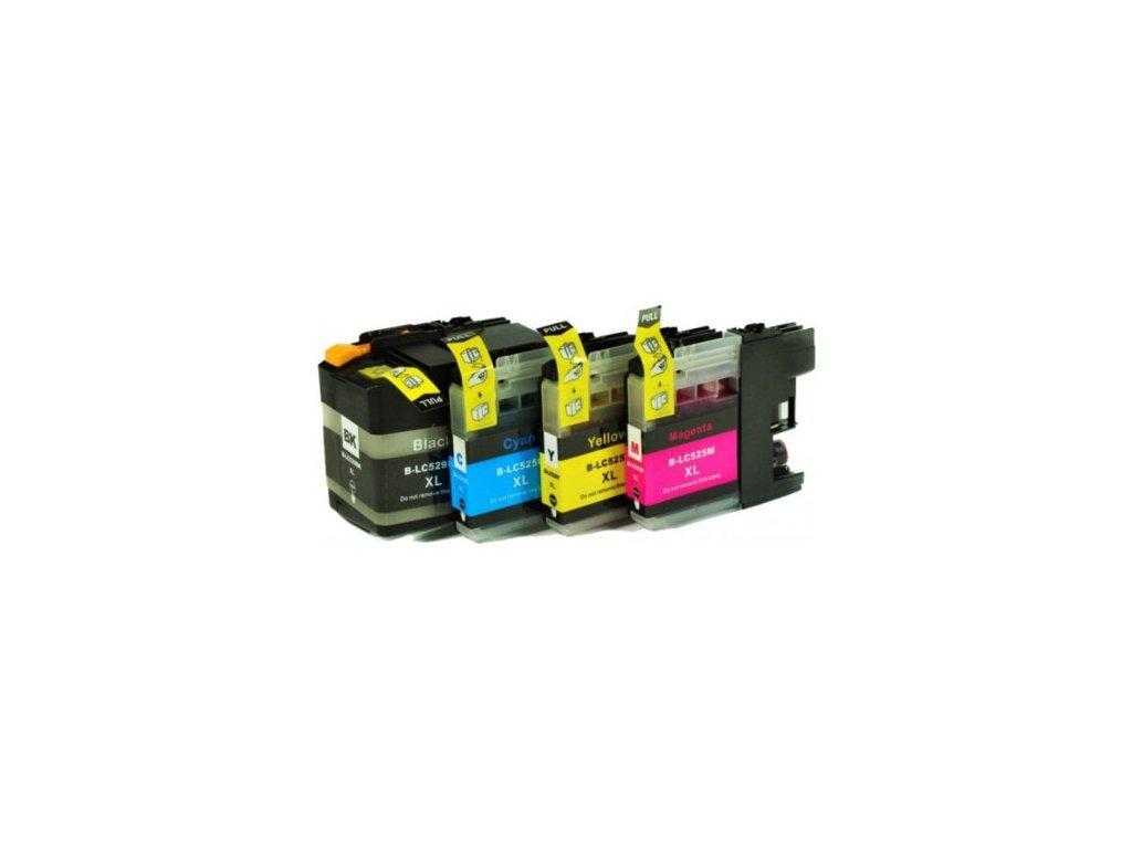 peach kompatibilni cartridge brother lc529xl lc525xl multipack plus 320079