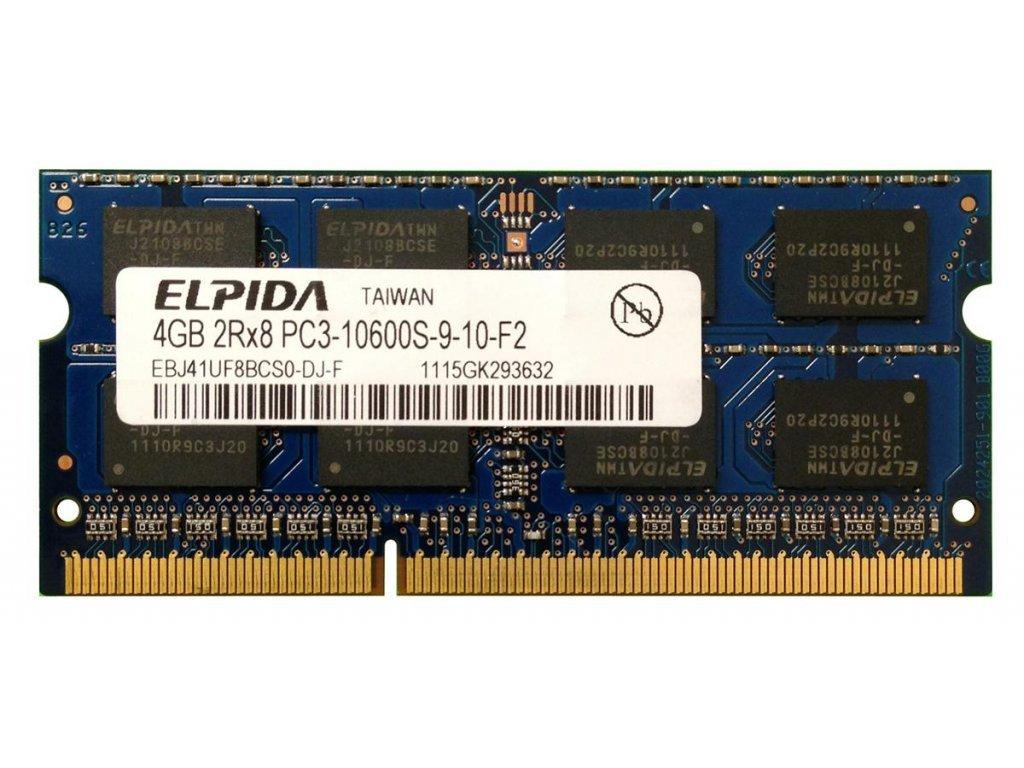 ELPIDA 4GB DDR3 SODIMM 1333MHz CL9 EBJ41UF8BCS0-DJ-F