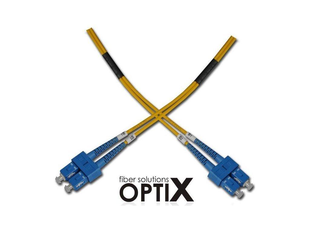 64290 optix sc upc sc upc opticky patch cord 09 125 0 5m g657a