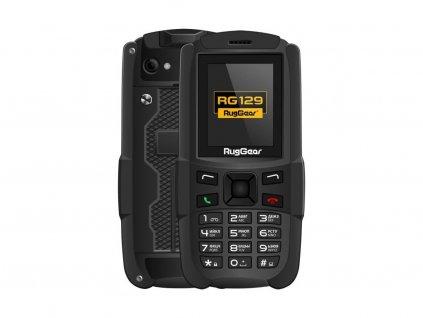 Odolný telefon RugGear RG129 DUAL SIM (Odolnost IP67) (CZ Distribuce)