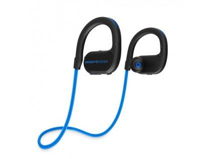 3419 energy earphones bt running 2 neon blue bluetooth sluchatka s led osvetlenim