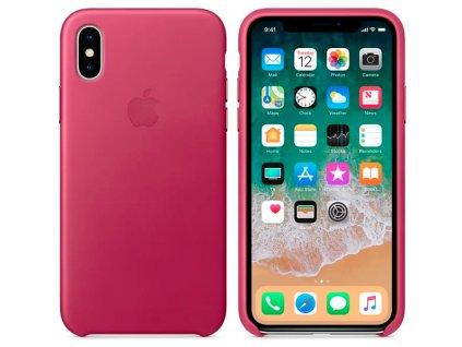 567 kryt na mobil apple iphone x kozeny kryt fuchsiovy mqtj2zm a