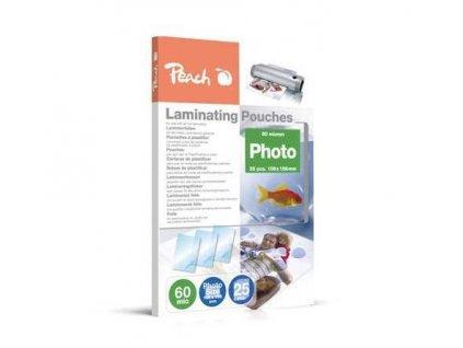 peach laminovaci folie photosize 10x15 cm 106x156 mm 60mic 25ks 86631962