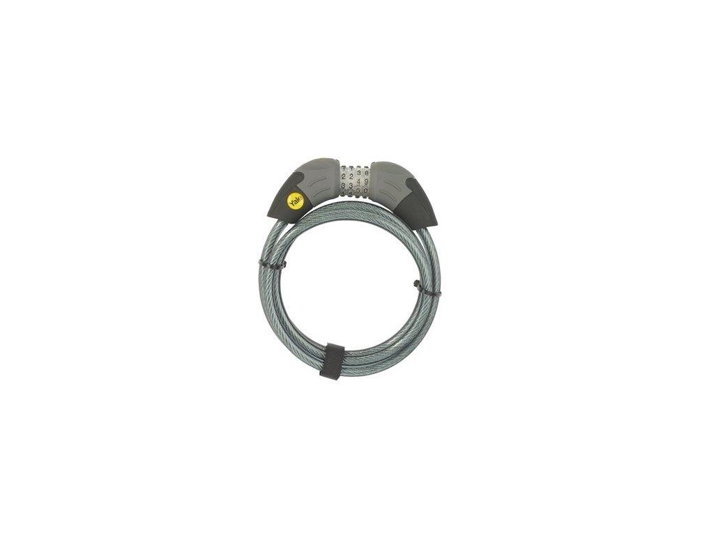 YALE cyklozámek kódový 1800 mm YCC1/10/185/1